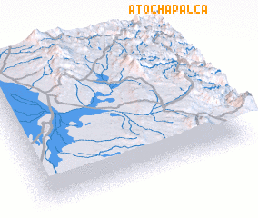 3d view of Atocha Palca