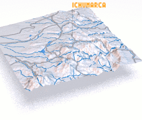 3d view of Ichumarca