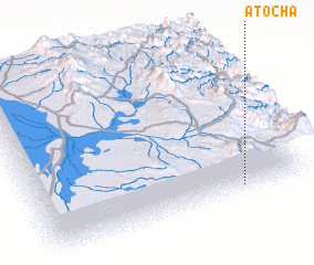 3d view of Atocha