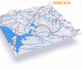 3d view of Yanacasa