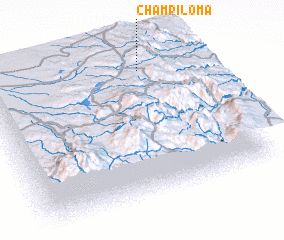 3d view of Champiloma