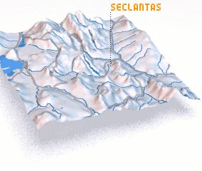 3d view of Seclantás