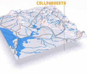 3d view of Collpapuerta