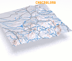 3d view of Chacraloma