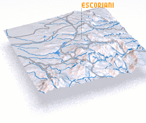3d view of Escoriani