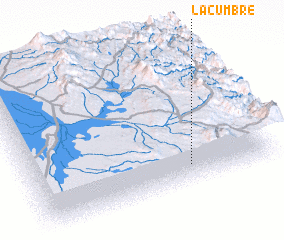 3d view of La Cumbre