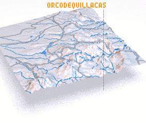 3d view of Orco de Quillacas
