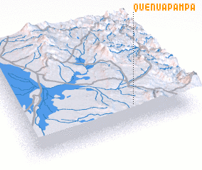 3d view of Queñuapampa