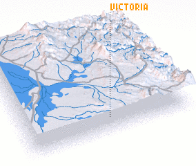 3d view of Victoria