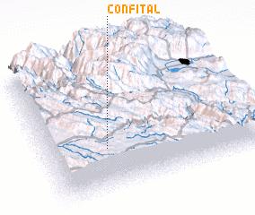 3d view of Confital