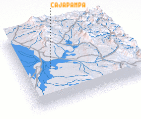 3d view of Cajapampa