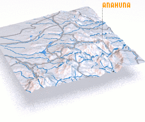 3d view of Anahuna