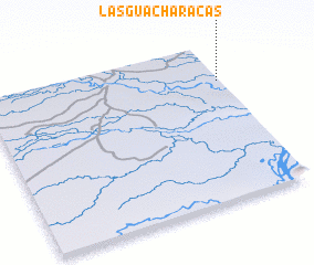 3d view of Las Guacharacas