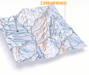 3d view of Cóndorhuasi