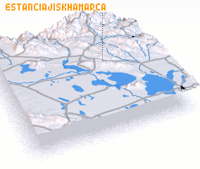 3d view of Estancia Jiskha Marca