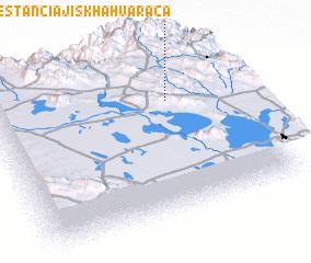 3d view of Estancia Jiskha Huaraca