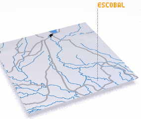3d view of Escobal