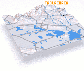 3d view of Tablachaca