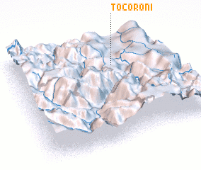 3d view of Tocoroni