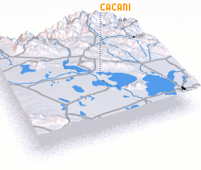 3d view of Cacani