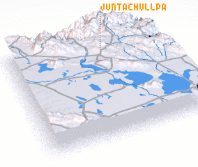 3d view of Junta Chullpa