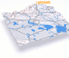 3d view of Larguani