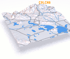 3d view of Colcha
