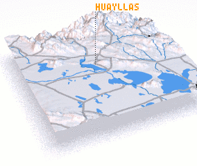 3d view of Huayllas