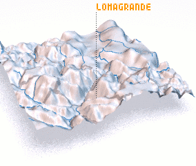 3d view of Loma Grande