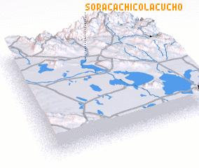 3d view of Soracachi Colacucho