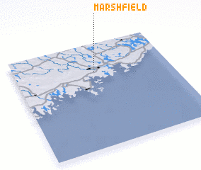 3d view of Marshfield