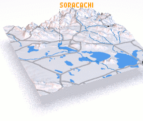 3d view of Soracachi