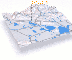 3d view of Challoma