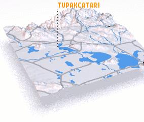 3d view of Tupak Catari