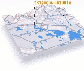 3d view of estancia junthuta