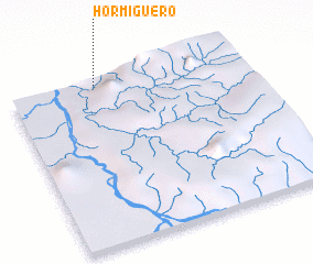 3d view of Hormiguero