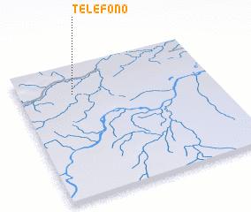 3d view of Teléfono