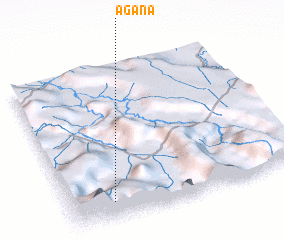 3d view of Agana
