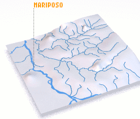 3d view of Mariposo