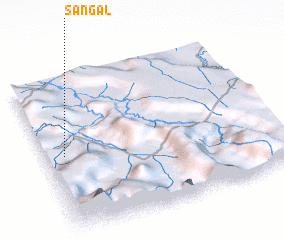 3d view of Sangal