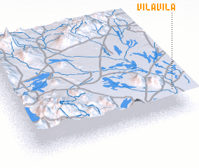 3d view of Vila Vila