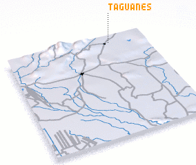 3d view of Taguanes