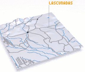 3d view of Las Cuñadas
