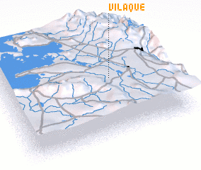3d view of Vilaque