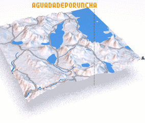 3d view of Aguada de Poruncha