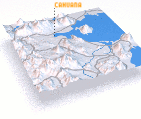 3d view of Cahuana