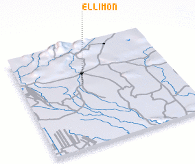 3d view of El Limón