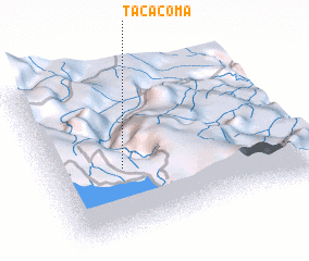 3d view of Tacacoma