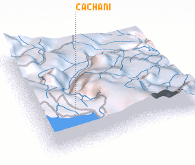 3d view of Cachani