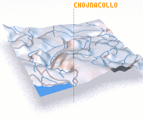 3d view of Chojñacollo